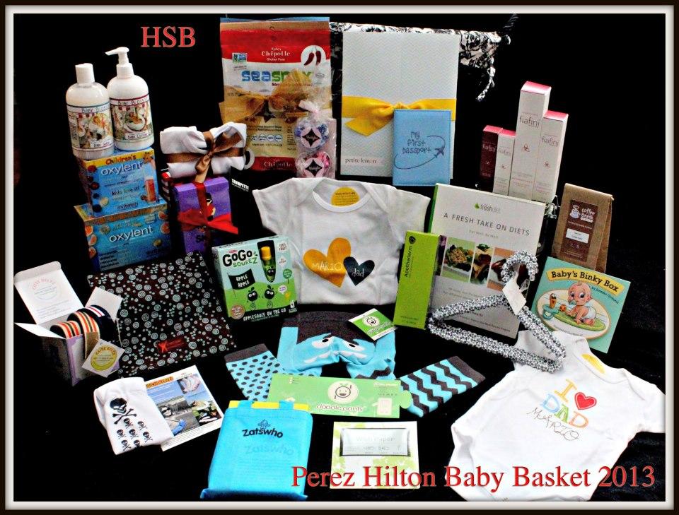 Perez Hilton Baby Bag