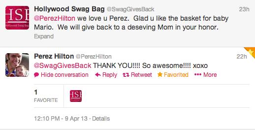 Perez Hilton Tweet