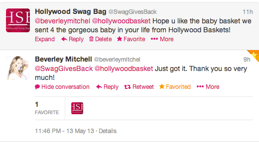 Beverley Mitchell Tweet