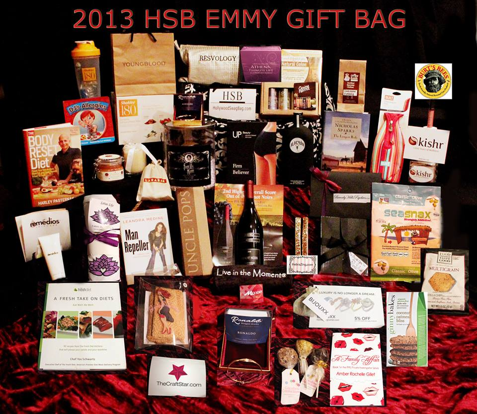 2013 Emmy Nominee Gift Bag