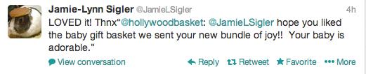 Jamie-Lynn Sigler Tweet
