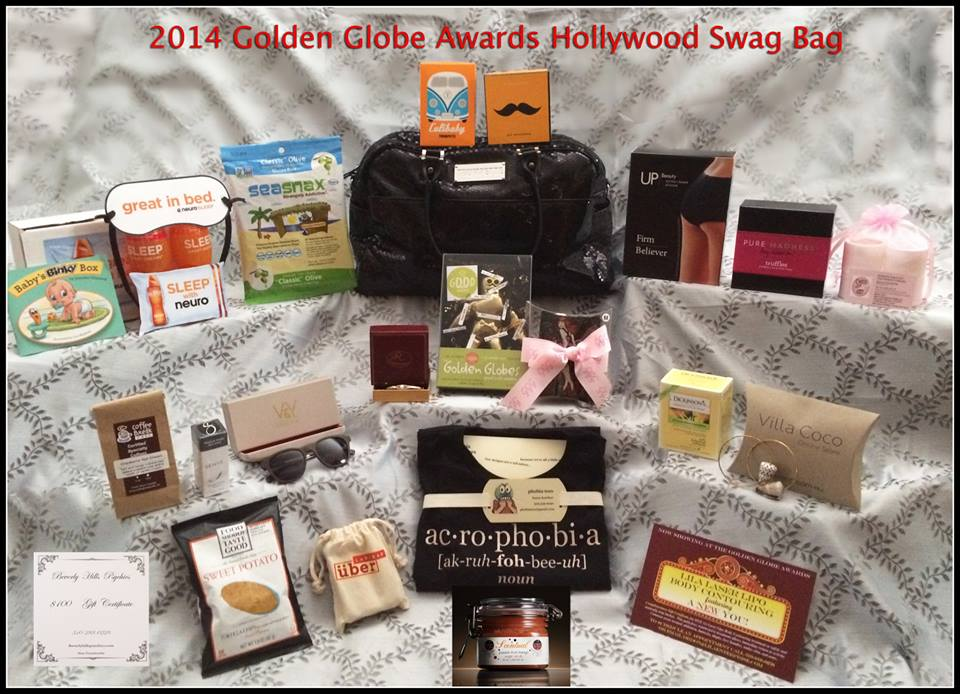 2014 Golden Globe Swag Bag