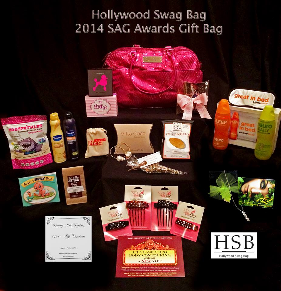 2014 SAG Gift Bag