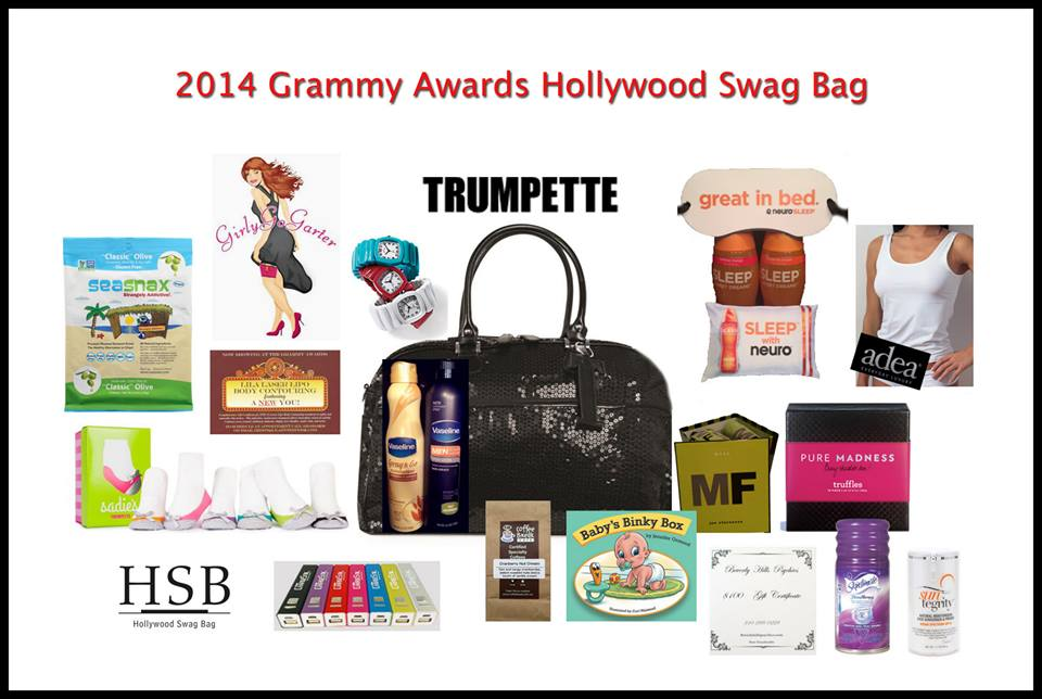 2014 Grammy Swag Bag