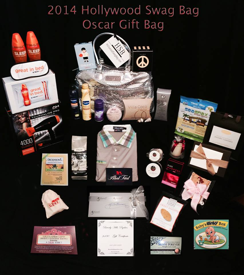2014 Oscar Swag Bag