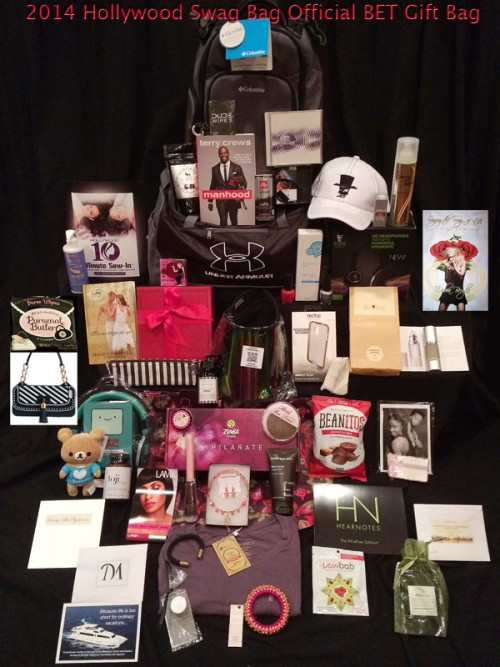 Hollywood Swag Bag prepares the Official Gift Bag for BET.