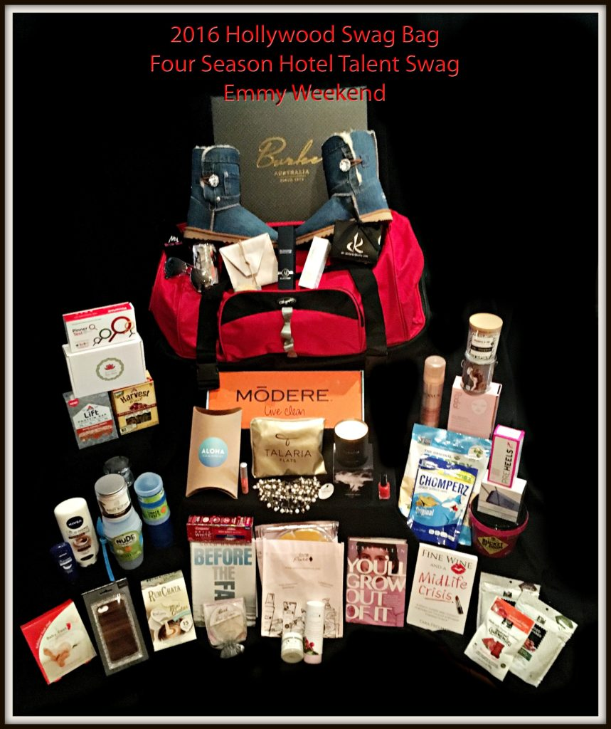 Hollywood Swag Bag Red Carpet Gift Bags For Four Seasons Guests and Talent.